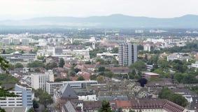 Freiburg im Breisgau at summer time Royalty Free Stock Images