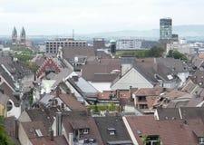 Freiburg im Breisgau at summer time Royalty Free Stock Photography