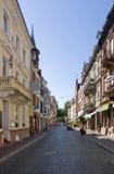 Freiburg im Breisgau in sunny ambiance Royalty Free Stock Photography