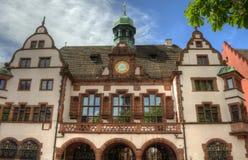 Freiburg im Breisgau, Tyskland - gammalt stadshus Royaltyfri Bild