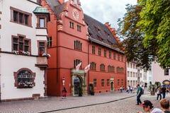 Freiburg-im-Breisgau, Zwart Bos, Duitsland Royalty-vrije Stock Afbeeldingen
