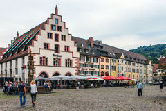 Freiburg-im-Breisgau, Zwart Bos, Duitsland Stock Fotografie