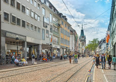 FREIBURG IM BREISLAU, GERMANY-JUNE 25,2015 foto de stock