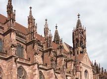 Freiburg-Kathedrale, Deutschland Lizenzfreie Stockfotos