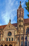 Freiburg Minster, Freiburg im Breisgau, Germany. Freiburg Minster is the cathedral of Freiburg im Breisgau, Germany Royalty Free Stock Images