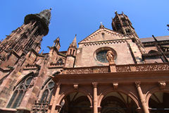 The Freiburg Muenster Royalty Free Stock Photos
