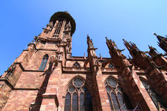 The Freiburg Muenster Stock Image