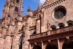 Freiburg Munster, Γερμανία Στοκ Εικόνες