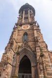 Freiburg Munster cathedral, Freiburg im Breisgau city, Germany Royalty Free Stock Image