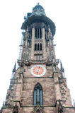 Freiburg Munster. Old Freiburg Munster cathedral in Freiburg, Germany Royalty Free Stock Image