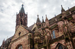 Freiburg Munster. Old Freiburg Munster cathedral in Freiburg, Germany Stock Photography