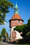 Freiburg står hög stad 2 Arkivbilder