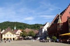Freiburg town Stock Photography