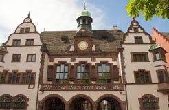 Freiburg Tyskland - stadshus Royaltyfri Bild