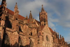 Freiburger Münster Stock Image