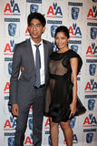 Freida Pinto,Dev Patel Stock Images