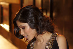 Freida Pinto At The Miral Premiere Royalty Free Stock Photos