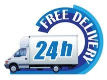 Freie Anlieferung - 24h Lizenzfreie Stockfotos