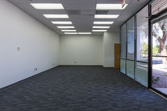Freie Büroräume Stockfoto