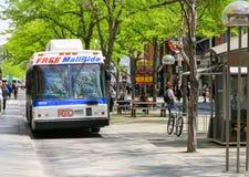 Freie Mall-Fahrt in Denver Lizenzfreies Stockfoto