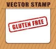 Freie rote Wörter des Glutens abgedämpft Stockbilder