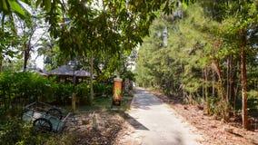Freie Straßen des Autos in Koh Phayam Lizenzfreie Stockfotografie