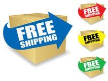 Freie Verschiffen-Ikone Lizenzfreies Stockbild
