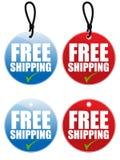 Freie Verschiffen-Marke Stockfotos