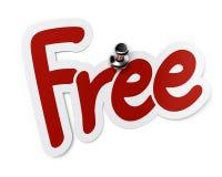 Freier Aufkleber Lizenzfreie Stockfotografie