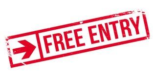 Freier Einreisestempel Lizenzfreies Stockbild