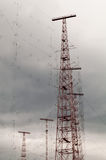 Freier Europa-Radio Störsender Stockbild