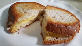Freier gegrillter Käse des Glutens Lizenzfreie Stockbilder