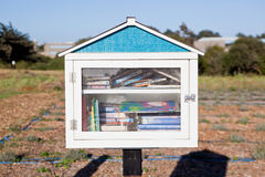 Freier Gemeinschaftsbibliotheks-Stand stockbilder