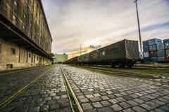 Freier Hafen Csepel Stockfoto