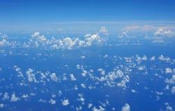 Freier Himmel mit Wolken Lizenzfreies Stockfoto