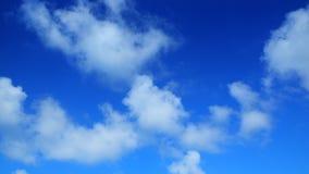Freier Hintergrund des blauen Himmels Stockbild