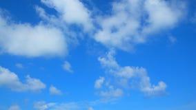 Freier Hintergrund des blauen Himmels Lizenzfreies Stockbild