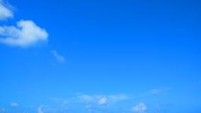 Freier Hintergrund des blauen Himmels Stockbilder