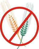 Freier Ikonenvektor des Glutens Lizenzfreies Stockbild