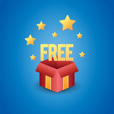 Freier Kasten lizenzfreie abbildung