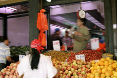 Freier Markt Stockfotografie