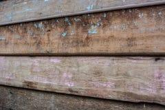 Freier Raum auf altem hölzernem boardsl stockbilder