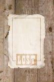 Freier Raum für die Mitteilung des Verlustes stockfotos