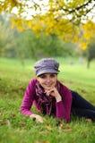 Freier smiley des jungen Mädchens Lizenzfreie Stockfotos