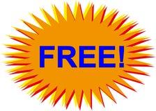 Freier Tastenvektor für Web site stock abbildung
