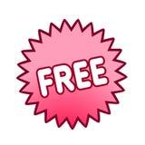 Freier Tastenvektor für Web site Stockbild