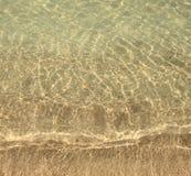 Freier Wasserhintergrund Lizenzfreies Stockbild