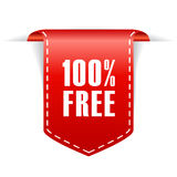 freies Band 100 Lizenzfreie Stockfotos