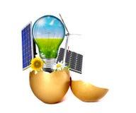 Freies Energiekonzept Stockfotografie