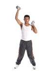 Freies Gewicht-Training Lizenzfreie Stockfotografie